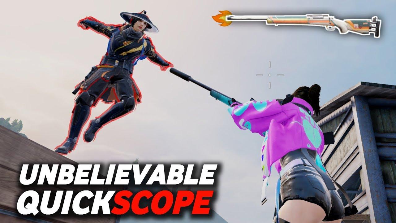 Fastest Quickscope With M24 Sniper | 1V2 Room TDM Challenge Match | Pixel Peak | PUBG MOBILE
