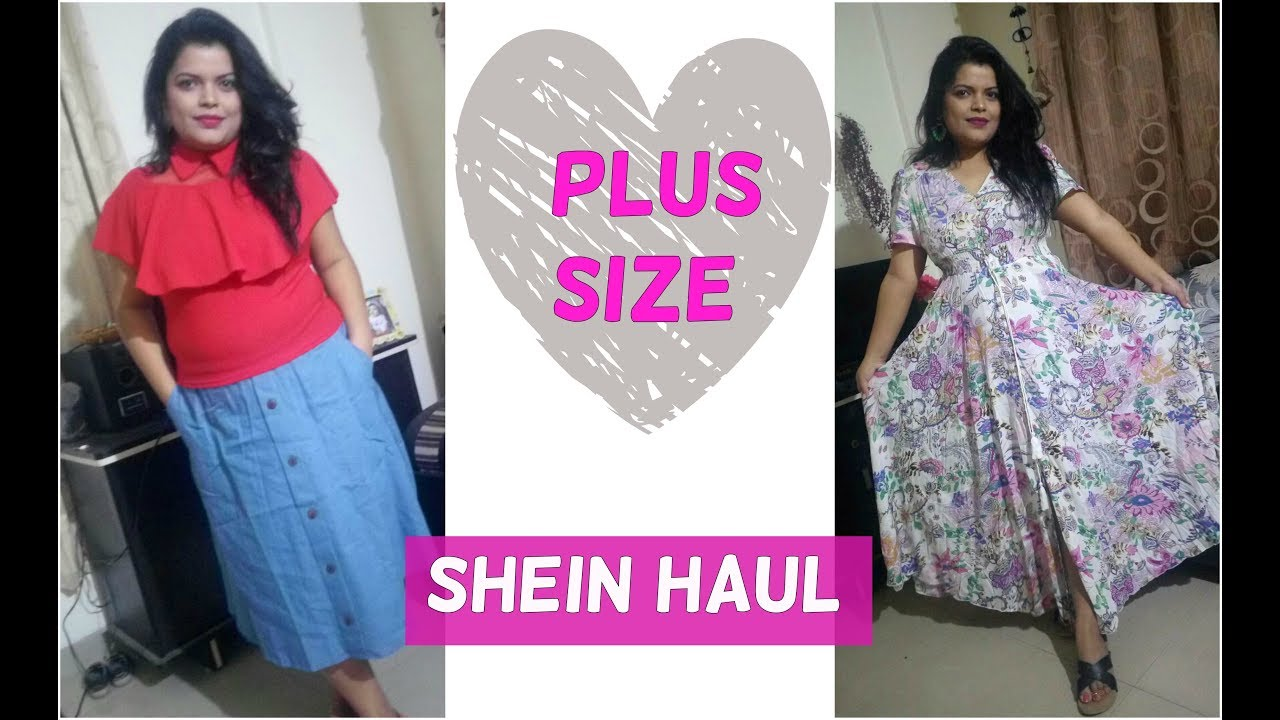 e5394a4472 PLUS SIZE HAUL SHEIN INDIA | SHEIN DRESSES / CLOTHING REVIEW - PREETIPRANAV