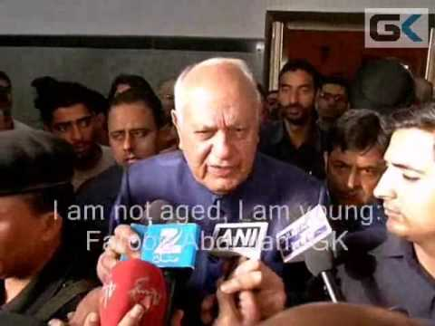 Farooq Abdullah fumes at journalist, says he is still young