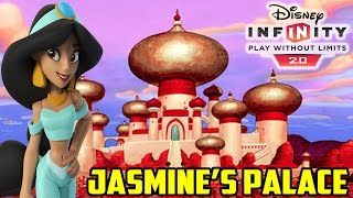 Disney Infinity 2.0 Toy Box Jasmine's Palace (horse Glitch)