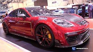 2018 Porsche Panamera by Mansory - Exterior and Interior Walkaround - 2017 Geneva Motor Show