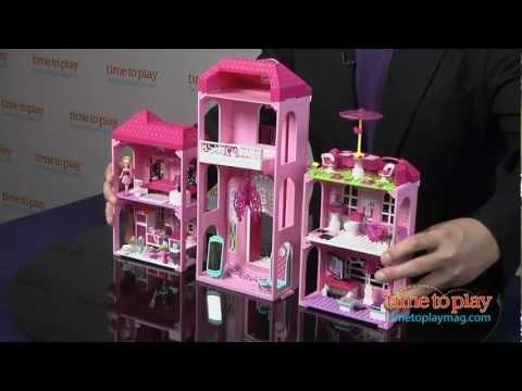 Barbie Build N Style Luxury Mansion From MEGA Bloks