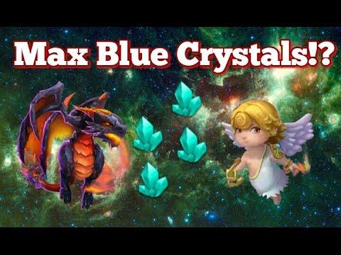 Castle Clash Max Blue Crystals!?