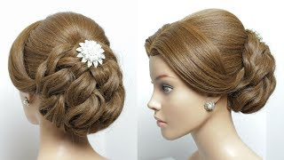 Bun Hairstyle Tutorial For Long Hair Step by Step