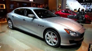 2014 Maserati Quattroporte Q4 - Exterior and Interior Walkaround - 2013 Detroit Auto Show