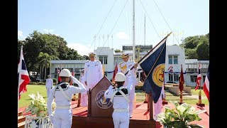 ผู้บัญชาการ ฐานทัพเรือสัตหีบ ส่งมอบหน้าที่สายการบังคับบัญชา