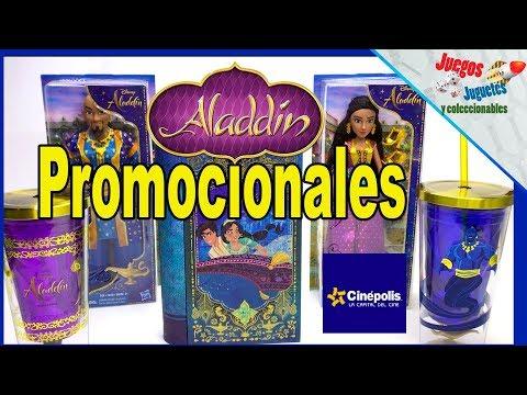 Caceria ALADDIN /CINEPOLIS Promocionales ► Juegos Juguetes Y Coleccionables