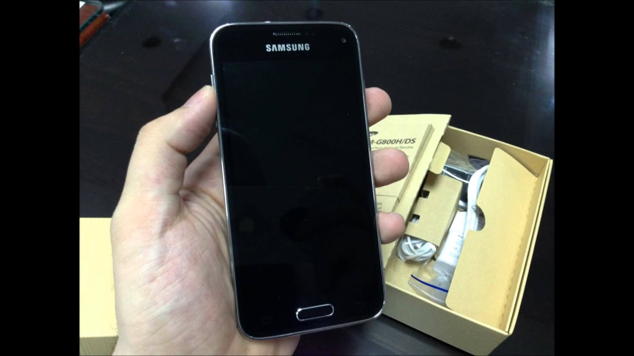 samsung galaxy s5 mini duos blue sm g800h ds   youtube