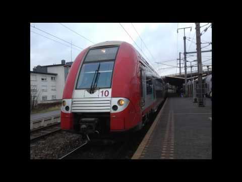 Les trains au Luxembourg (Photos)