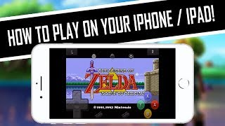 HOW TO PLAY The Legend of Zelda: A Link to the Past (SNES) on iPhone, iPad, iPod, iOS Setup/Tutorial
