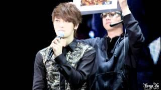 130413 JYJ 김재중 대만 미니콘 Your My in Taipei - 比手畫腳 charades(2)