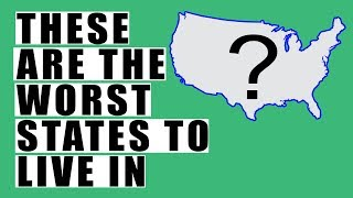THESE Are the Worst States to Live in! RECORD Number of People Will Abandon Their State in 2018!