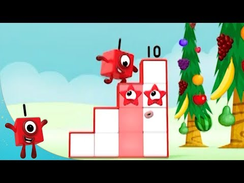 Numberblocks - Stepping Stones | Learn to Count | Learning Blocks