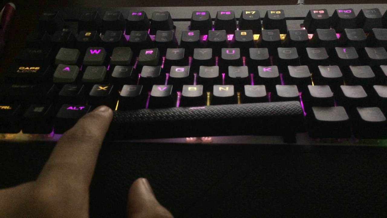 Corsair Strafe RGB Spacebar Problem