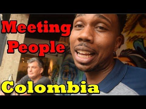 Making Friends in Medellin Colombia