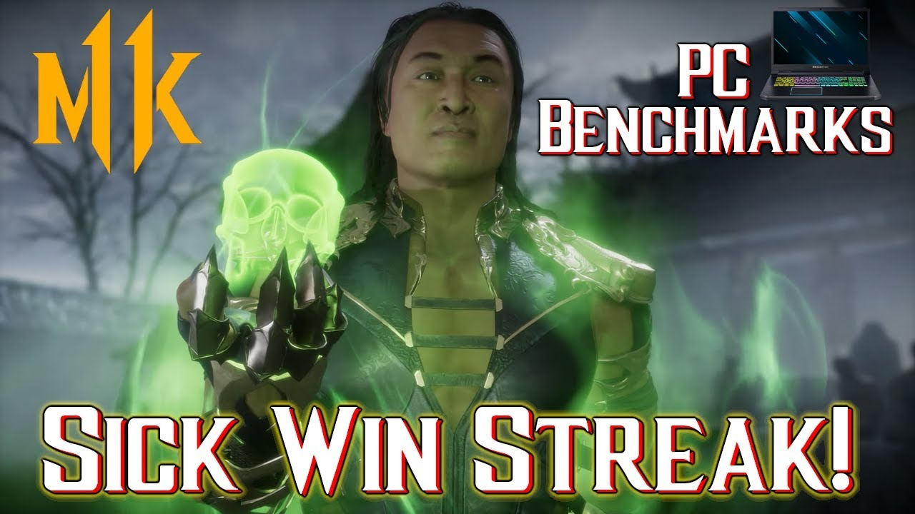 Download Mortal Kombat 11 PC Gameplay With Benchmarks | Epic 20+ Win Streak (Acer Predator Helios 300 2019)