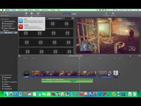 iMovie 11 - Video erstellen und Bild in Bild einfügen