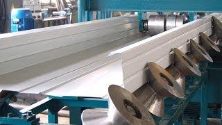 Оборудование для производства кассетных сэндвич-панелей(Наше предприятие серийно производит скоростные автоматические линии для производства сэндвич-панелей..., 2013-04-24T11:57:43.000Z)