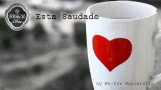 Audiopoema - Poema - Esta Saudade