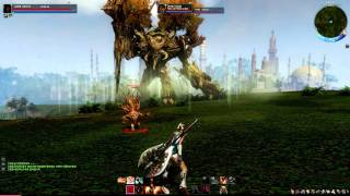 ArcheAge Online CBT3 Gameplay Field Boss
