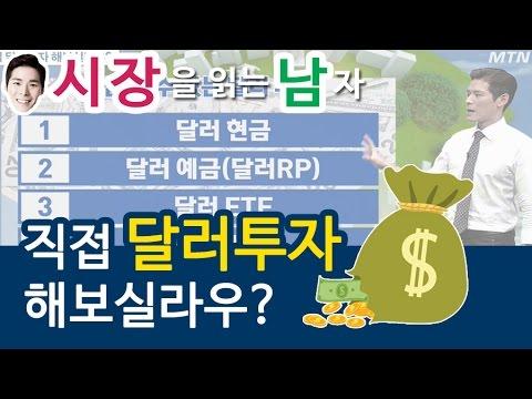 [시장을 읽는 남자] 직접 달러투자 해보실라우?