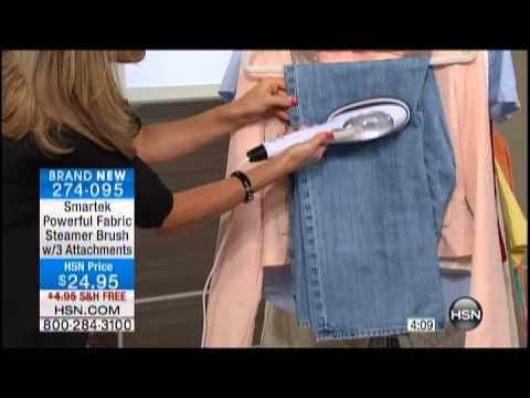Kelly Diedring Harris presents the Smartek steam brush on HSN; 8.22.13