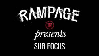 Announcing... Sub Focus for #RAMPAGE2016!