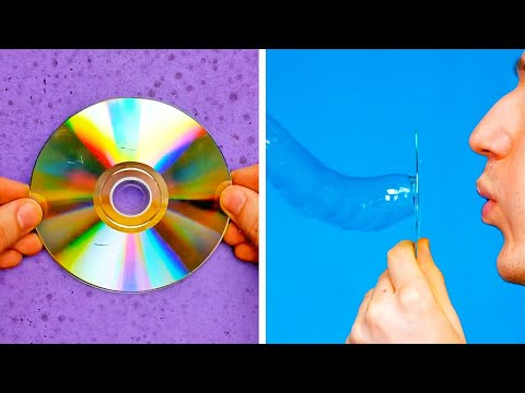 40 FUN SCIENCE EXPERIMENTS YOU CAN TRY