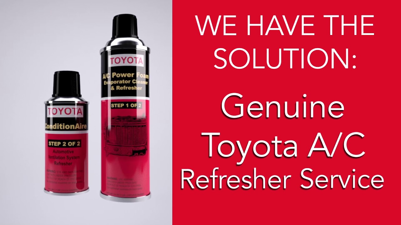 North Hollywood Toyota In Los Angeles   A/C Refresher