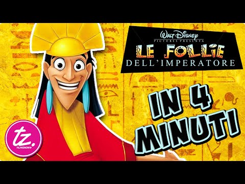 LE FOLLIE DELL'IMPERATORE | Raccontato in 4 Minuti - Film Disney