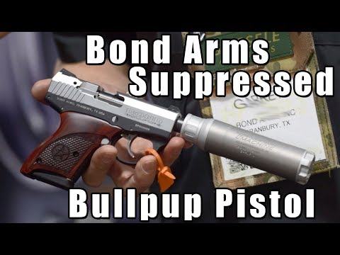 Bond Arms Announces Suppressed Bullpup Pistol