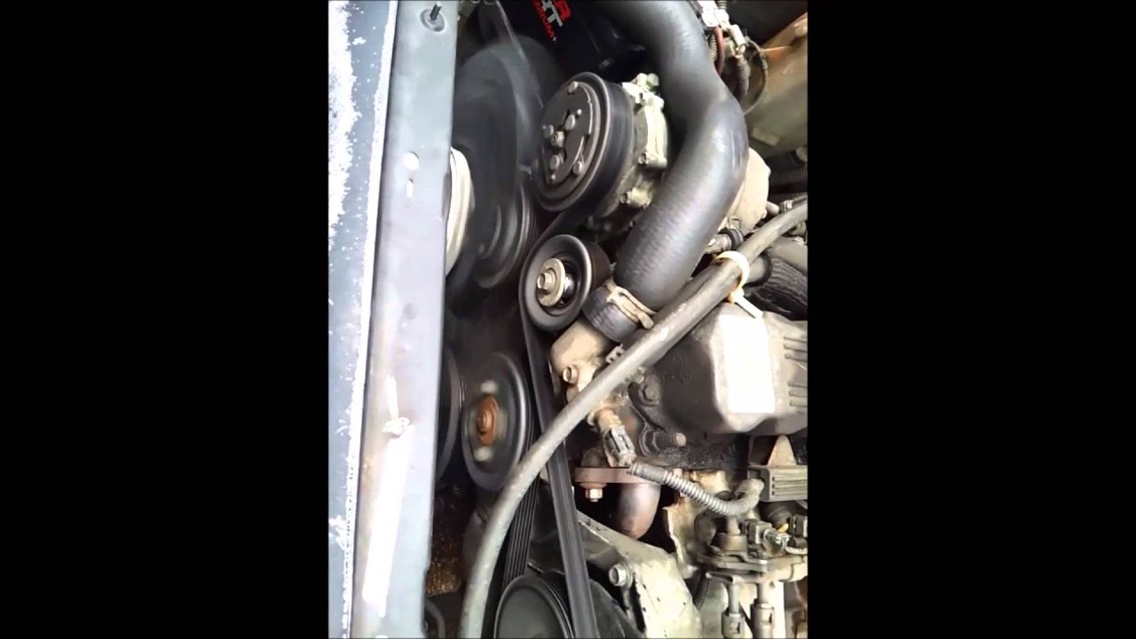 95 Jeep Cherokee Idler Pulley Replacement Serpentine Belt Youtube. 95 Jeep Cherokee Idler Pulley Replacement Serpentine Belt. Jeep. 1996 Jeep Cherokee Belt Diagram At Scoala.co