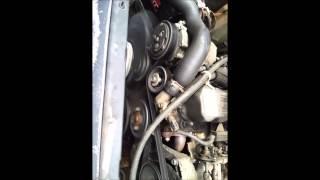 95 Jeep Cherokee Idler Pulley Replacement Serpentine Belt