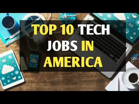10 Best Paying Tech Jobs in USA - 2018