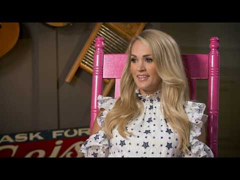 Carrie Underwood Interview - Cry Pretty