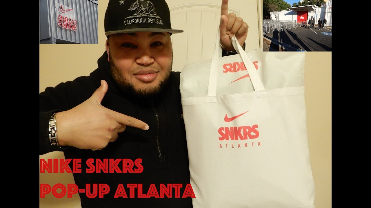 Nike SNKRS POPUP in Atlanta     My Thoughts!!!!!