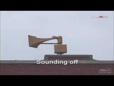 Civil Defense  Warning Sirens Collection  Remake & Extended