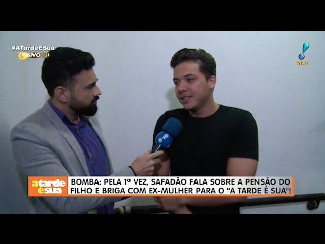 """Wesley Safadão fala sobre briga por pensão e nega """"cala boca"""" em ex-mulher"""