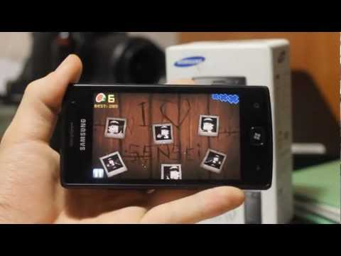 Samsung Omnia W Видеообзор