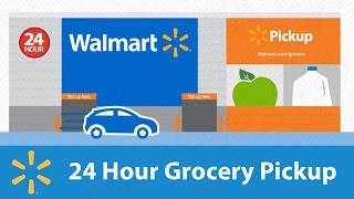24 Hour Grocery Pickup | Walmart Grocery