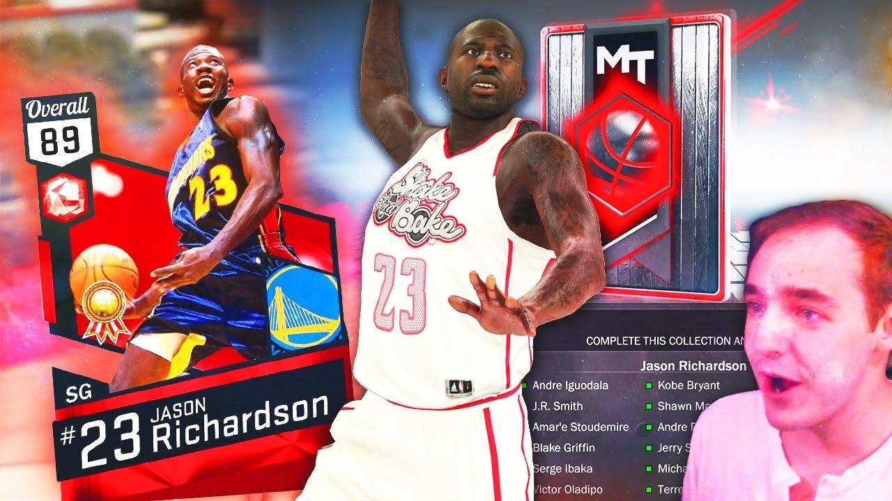 NBA 2K17 My Team RUBY JASON RICHARDSON UNREAL DUNKER SUPER RARE