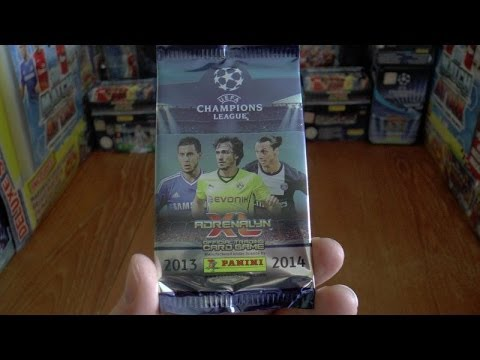 PACK OF THE DAY #23 panini ADRENALYN XL UEFA CHAMPIONS LEAGUE 2013 / 2014 Trading Cards