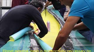 Kayak hull produced by infusion (English)