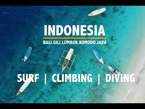 HOW TO TRAVEL INDONESIA | SURFING, CLIMBING, DIVING | FULL HD