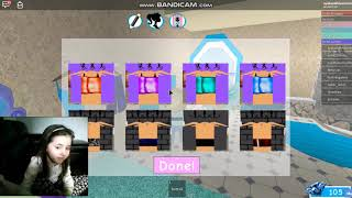 Roblox Royal High School Chilling out with my sis
