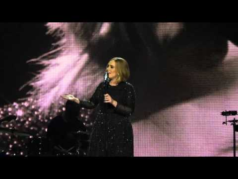 Adele Sang HELLO Live at The X Factor