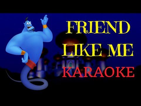 Friend Like Me  Aladdin Multilanguage Karaoke