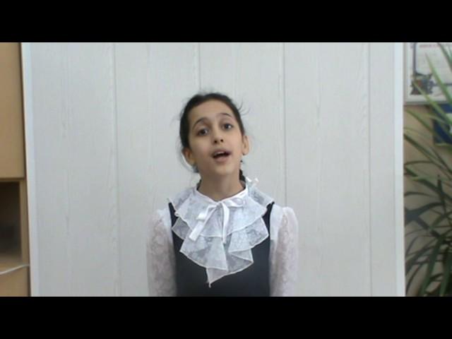 Изображение предпросмотра прочтения – АлсуАлиева читает произведение «Девочка (Что же ты плачешь…)» В.Я.Брюсова