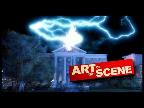 Back to the Future Clocktower - Art of the Scene