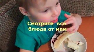 Minecraft снеговик и кораблики Украшение детского блюда
